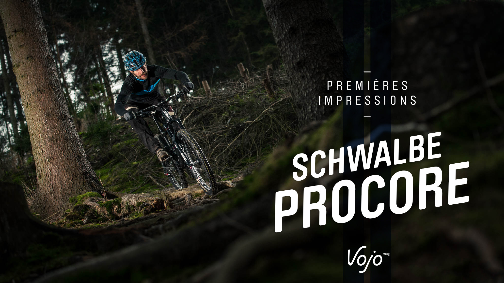 On a installé et roulé le Schwalbe Procore ! - Vojo Magazine