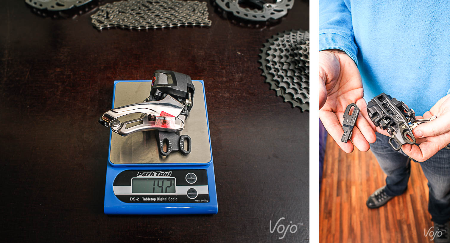 Shimano_XTR_Di2_Compo1_Poids_Vérifies_Verfied_Weight_Copyright_OBeart_VojoMag