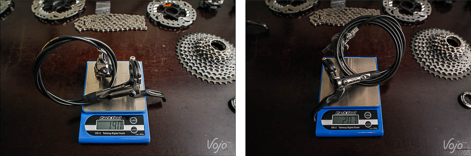 Shimano_XTR_Di2_Compo2_Poids_Vérifies_Verfied_Weight_Copyright_OBeart_VojoMag