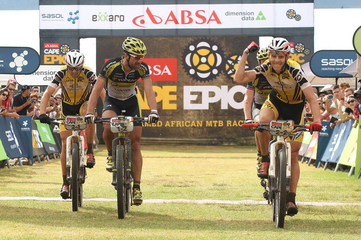 Absa Cape Epic 2015 Stage 6 Wellington