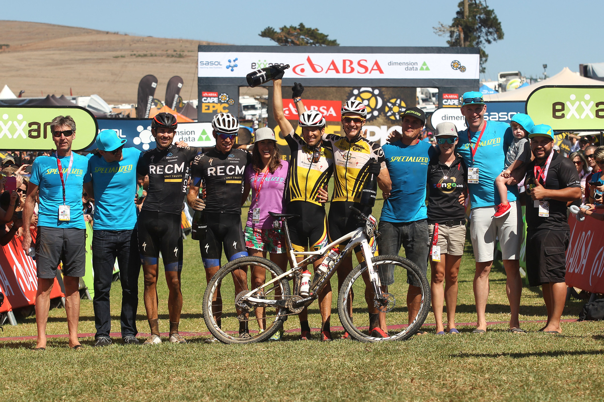 Absa Cape Epic 2015 Stage 7 Wellington to Durbanville