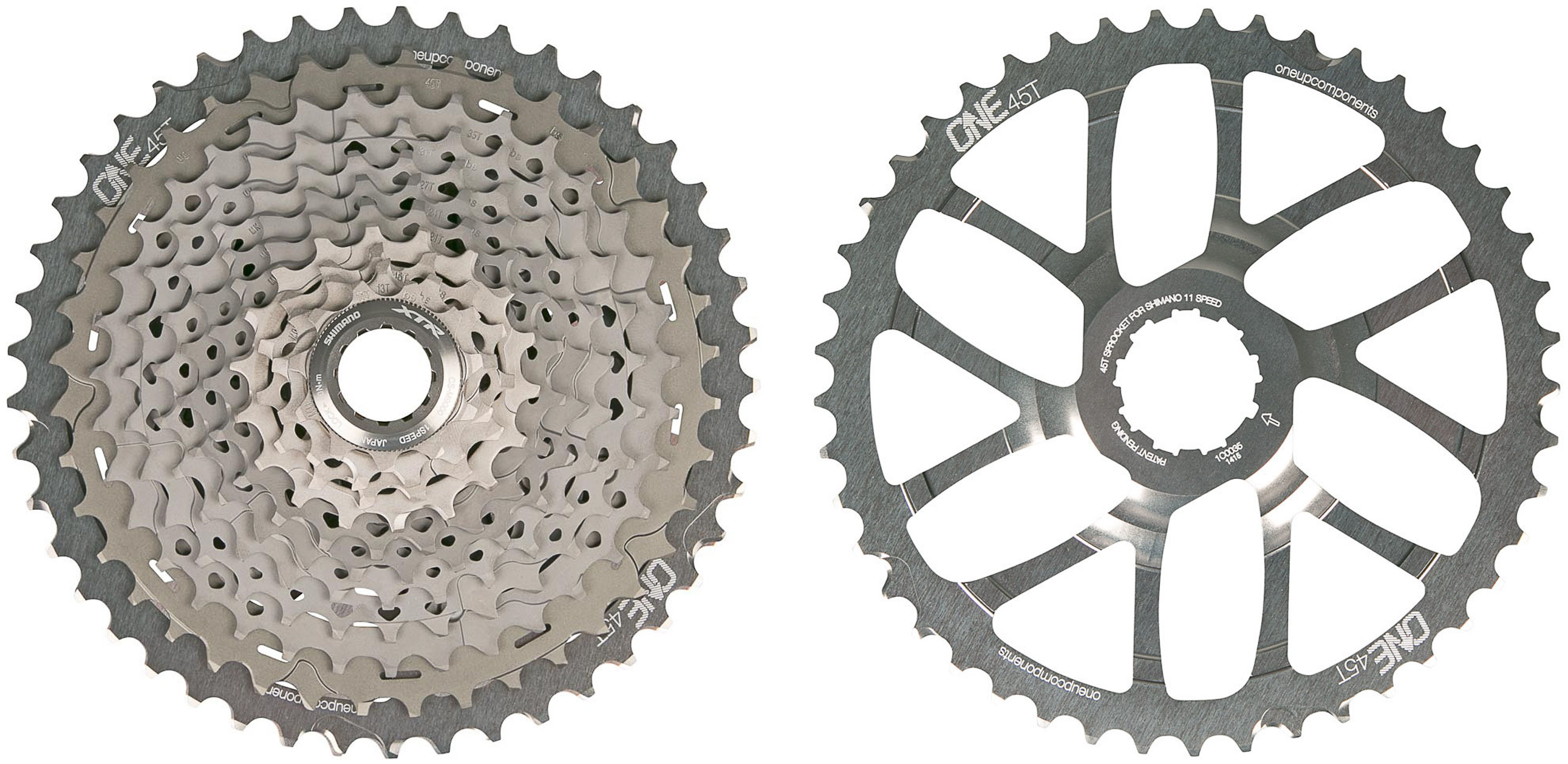 OneUp-2-Components-45T-11-Speed-Shimano-Sprocket-XT-XTR
