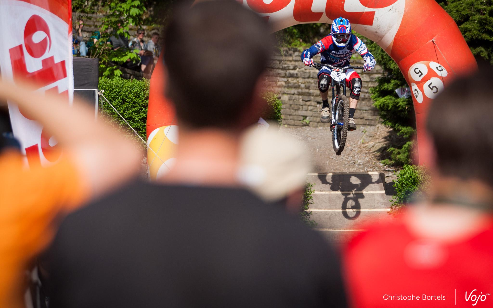 Ambroise Hébert sur le jump final