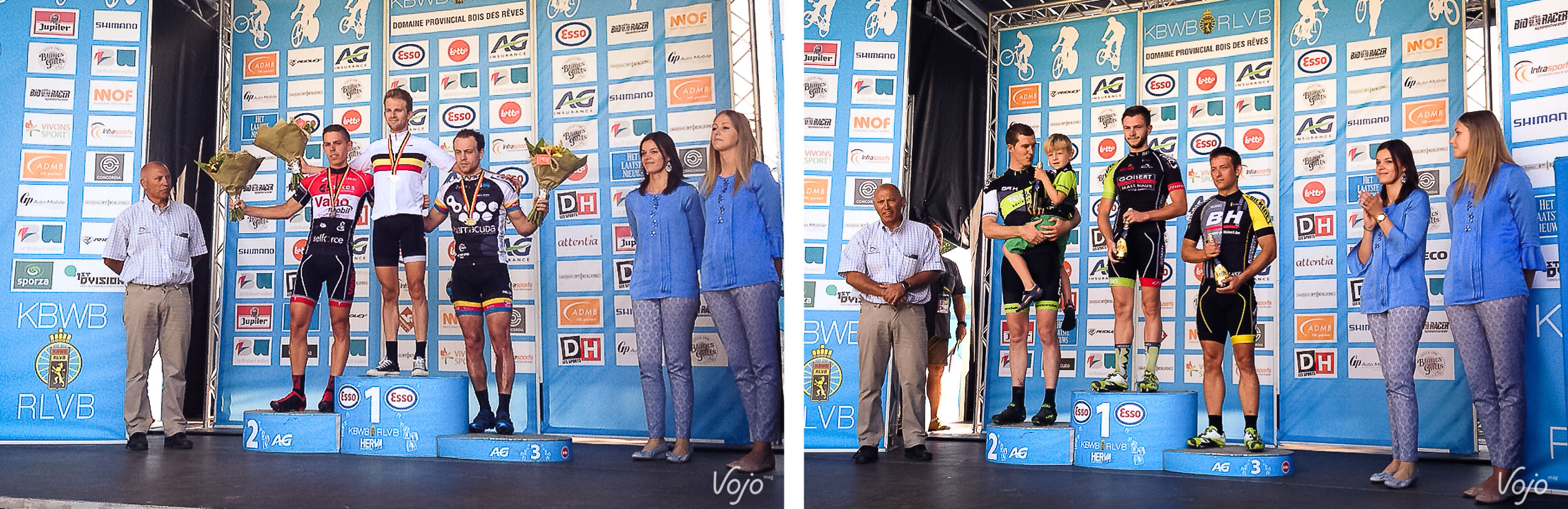 Podium_Fun_Championnat_Belgique_BDR_2015