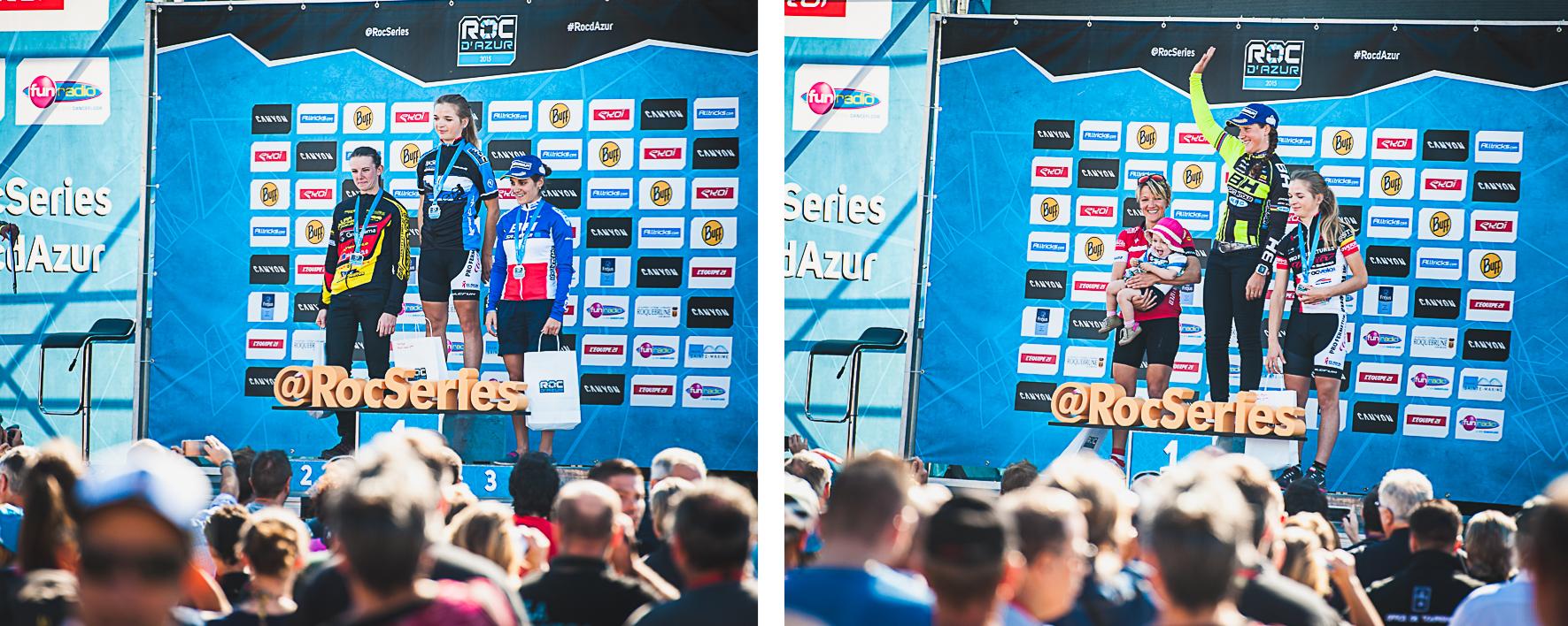 roc podium dames