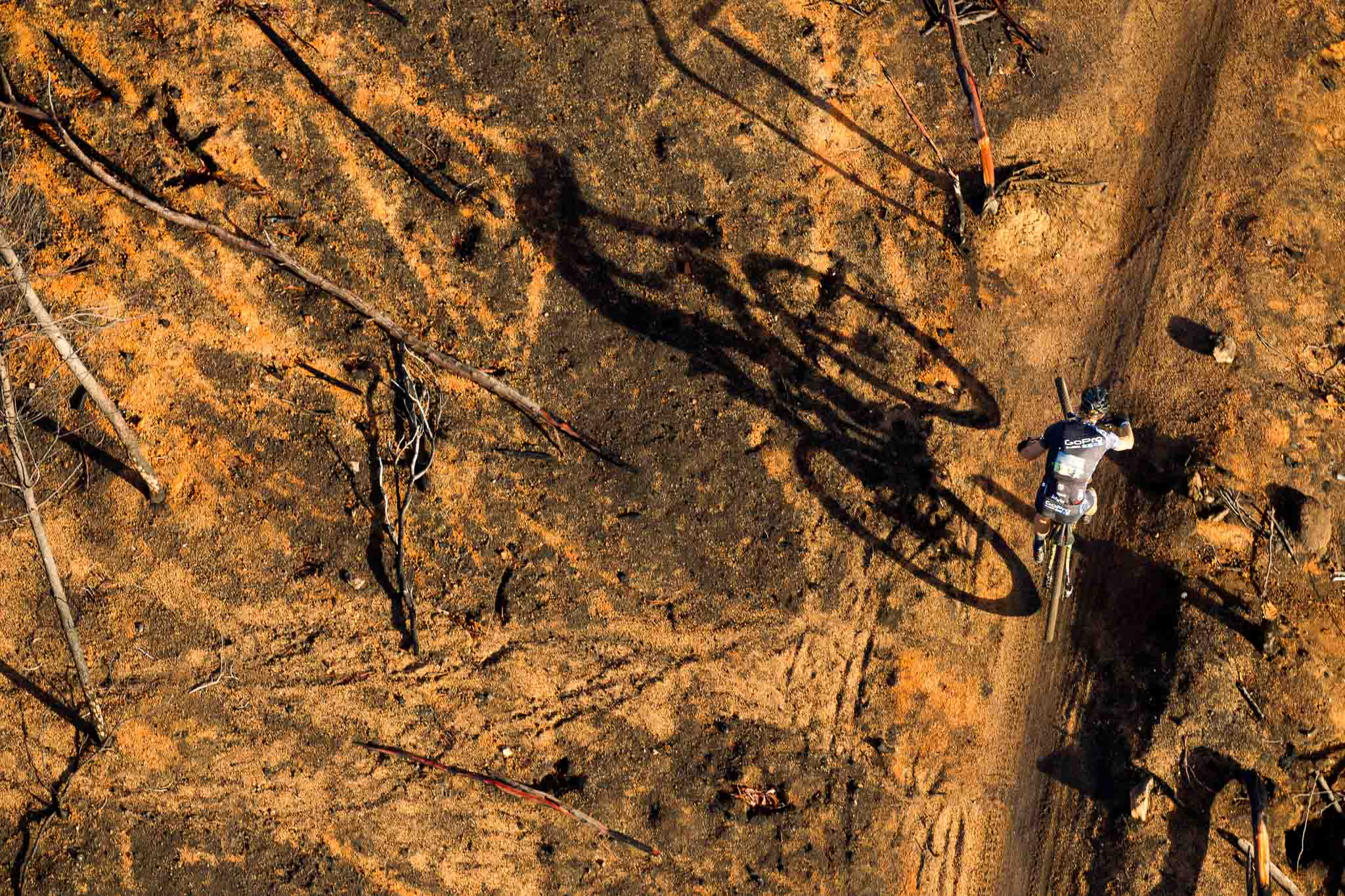 Oliver Munnik of GoPro during stage 6 of the 2016 Absa Cape Epic Mountain Bike stage race from Boschendal in Stellenbosch, South Africa on the 19th March 2015 Photo by Gary Perkin/Cape Epic/SPORTZPICS PLEASE ENSURE THE APPROPRIATE CREDIT IS GIVEN TO THE PHOTOGRAPHER AND SPORTZPICS ALONG WITH THE ABSA CAPE EPIC ace2016