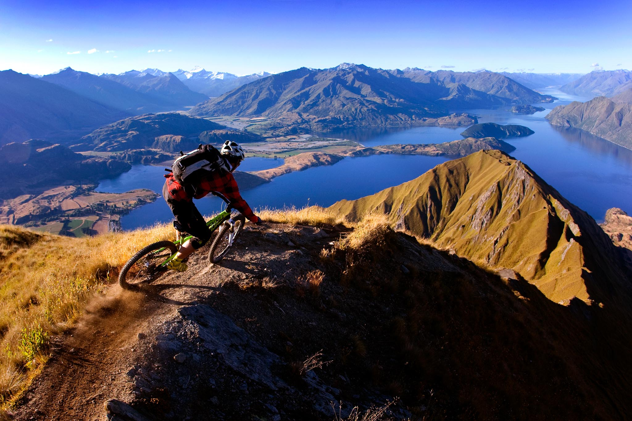 Rider Jerome clementz - Country New zealand - City nest to Wanaka - spot mont roy
