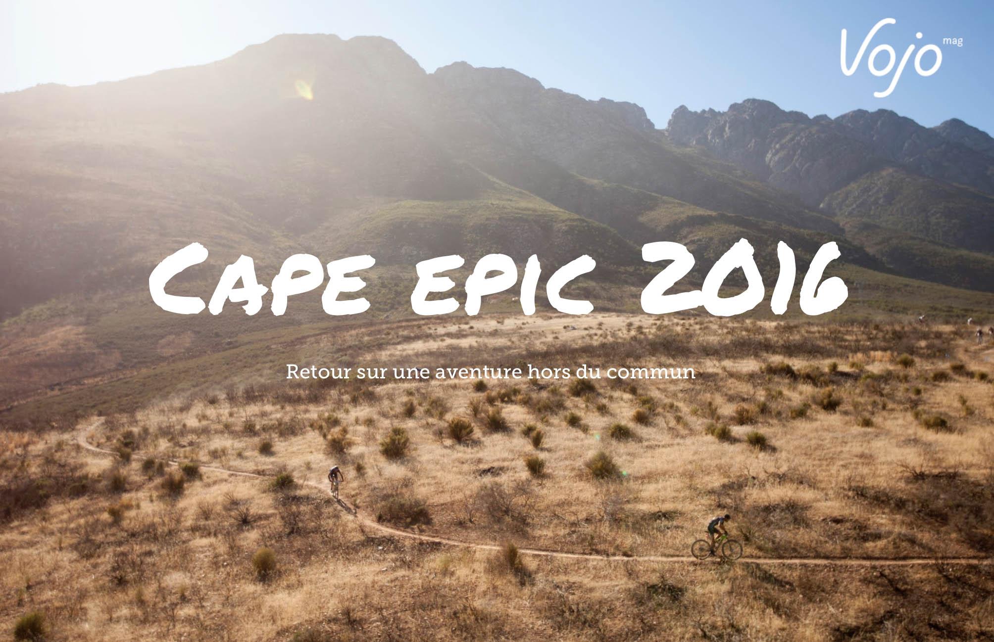 Fanny Bourdon vous raconte son Cape Epic, qu'elle a remporté en catégorie mixte en 2016