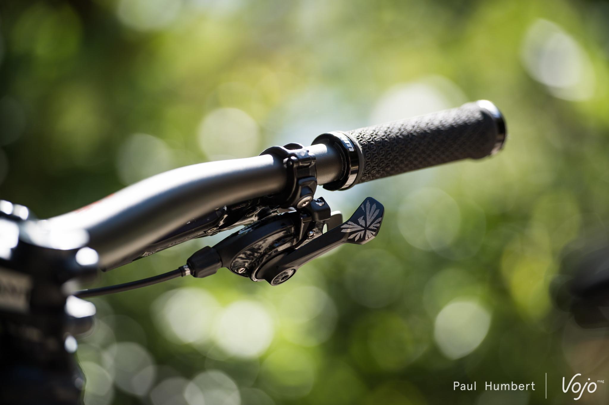 gauche GX Eagle Shifter-SRAM GX Eagle Grip Shift Shifter 12 vitesse arrière noir