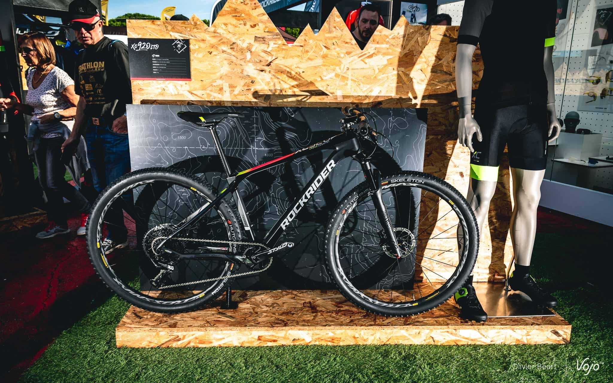 4672a3775 Oubliez BTwin   tous les VTT Decathlon reviennent désormais à l appellation  Rockrider ! Après un très remarqué XC500 présenté l an dernier et  compatible ...