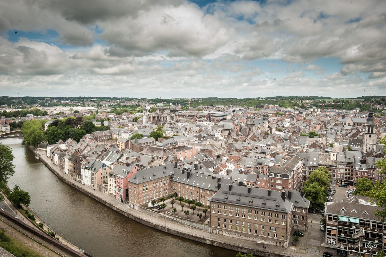 Namur vue de la route merveilleuse