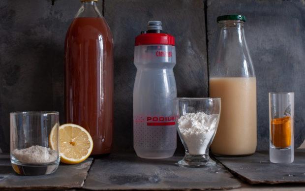 La boisson d'effort maison: à vos bidons!