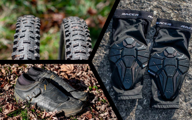 Test Ride #23 | Pneus Goodyear, genouillères Racer et chaussures Shimano